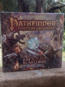 Pathfinder Adventure Card Game -Rise of the Runelords Base Set front cover.