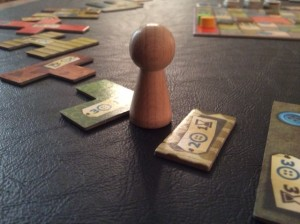 Player Token at start of the game
